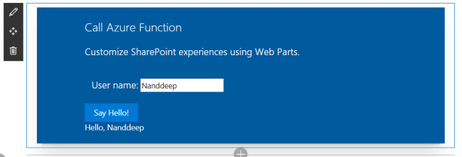 SharePoint Framework – Call Azure Function