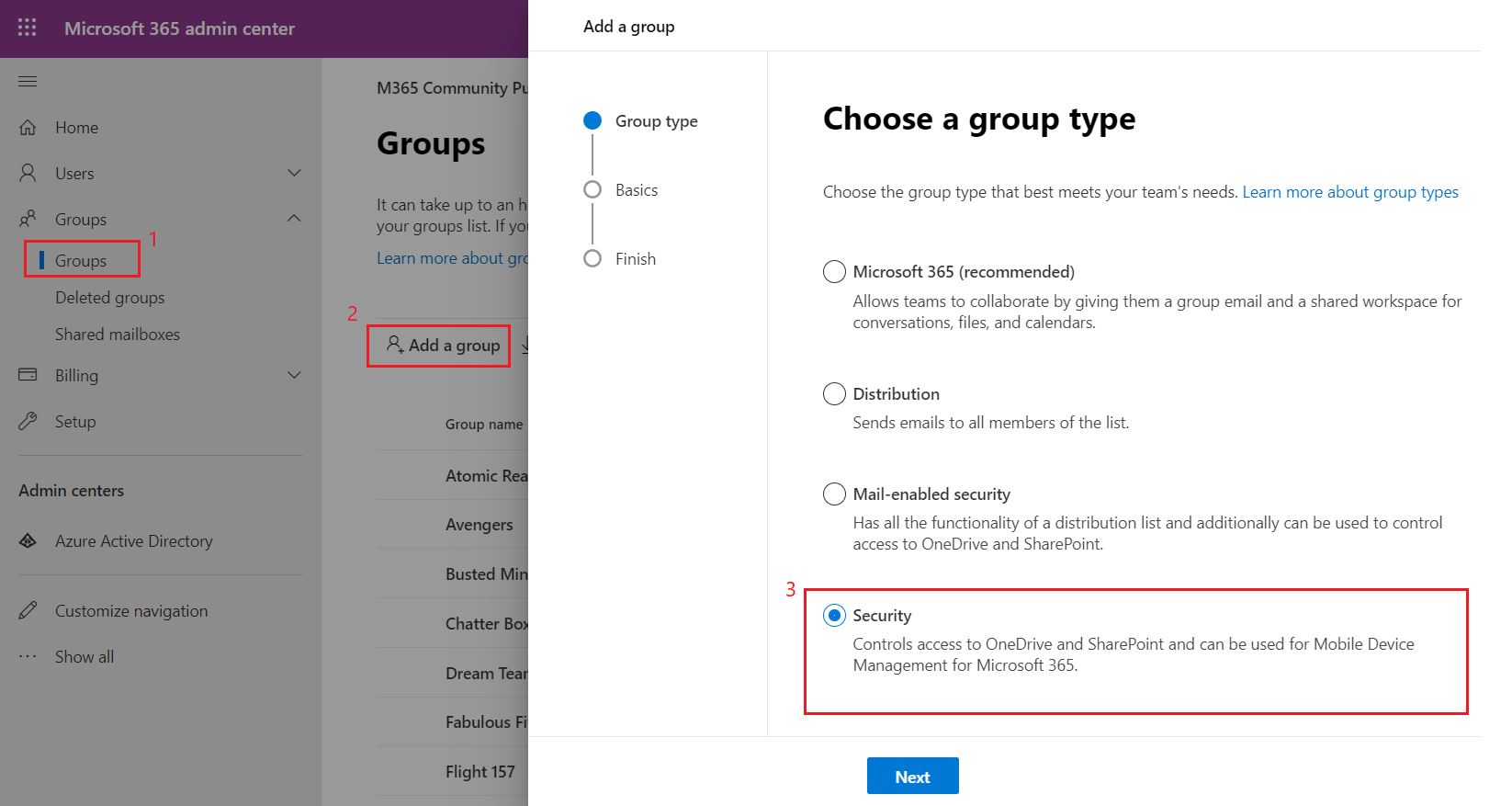 Limit MS Teams Creation to Security Group
